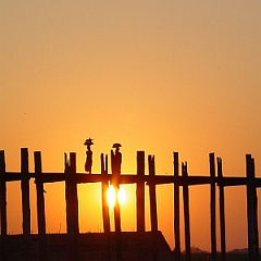U Bein bridge - Mandalay - Myanmar